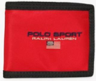 Polo Ralph Lauren Billfold Wallet Punge Red