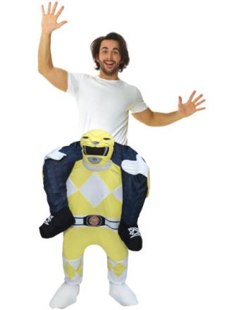 Yellow Power Ranger Piggyback Kostyme