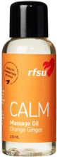 RFSU: Calm, Massage Oil, Orange Ginger, 100ml