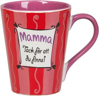 Mamma Mugg Tack För Att Du Finns