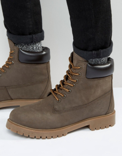 Red Tape Worker Boots Brown - Brown