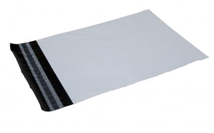 Forsendelsesposer PE hvid 550x770mm 100stk/pak