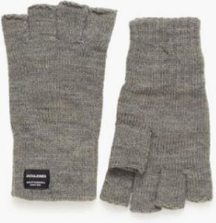 Jack & Jones Jachenry Fingerless Gloves Hansker og votter Grå