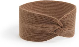 Pannband i 100% PREMIUM kashmir från Peter Hahn Cashmere brun