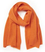 Schal aus 100% PREMIUM Kaschmir Peter Hahn Cashmere orange