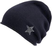 Mütze aus 100% PREMIUM Kaschmir Peter Hahn Cashmere blau