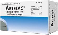 Artelac ögondroppar, lösning i endosbehållare, 0,5 ml 60 st