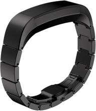 Fitbit Alta erstatningsreim av rustfritt stål - Svart