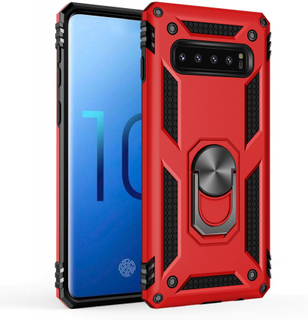 Bofink Combat Samsung Galaxy S10 deksel - Rød