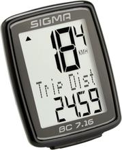 SIGMA SPORT BC 7.16 Bike Computer Med kabel 2021 Cykeldatorer med sladd