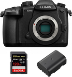 Panasonic Lumix DC-GH5 + Extrabatteri + 128GB Minn