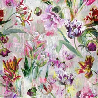 Designers Guild Tulipa Stellata Fuchsia Tyg
