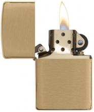 Zippo Brushed Brass - Lighter - Børstet messing