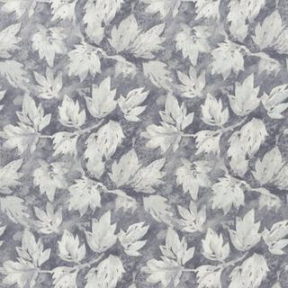 Designers Guild Fresco Leaf Graphite Tyg