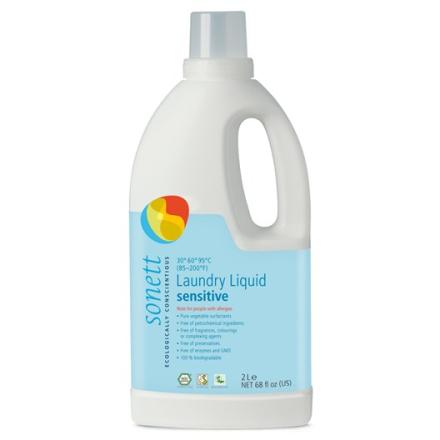 Ekologiskt Flytande Tvättmedel Sensitive, 2 L