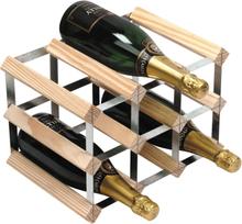 RTA Vinställ 9 flaskor ljust trä