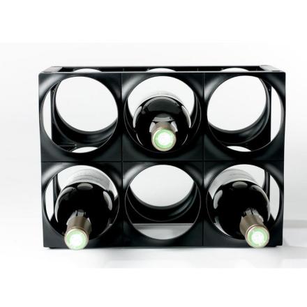 Nuance Vinställ svart 6 flaskor