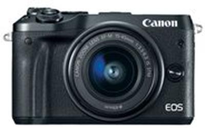 Canon EOS M6 - Digitalkamera - spegellöst - 24.2 M