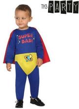 Kostume til babyer Superhelt (2 Pcs)