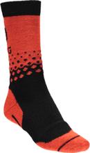 Icebug Warm Wool Sock Juoksusukat BLACK/ORANGE