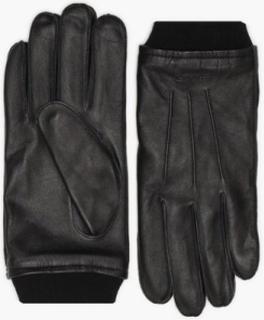Gant D2. Leather Gloves Hansker og votter Black