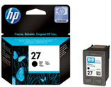 HP 27 - 10 ml - svart - original - blister med ele