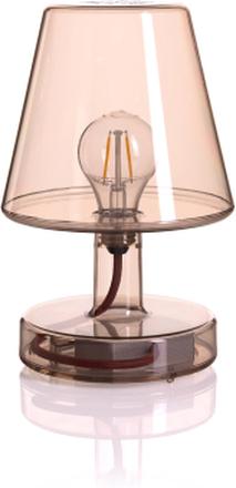 Transloetje bordslampa Brown