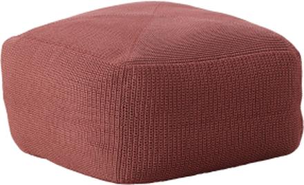 Divine pall Marsala röd 55x55 cm