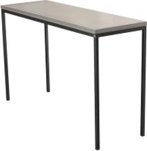 Mystic sideboard Betong/svart 150x40 cm