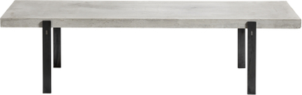 Manhattan bänk Betong 140x42,5 cm