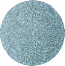 Defined utomhusmatta Beige/grå/turkos 140 cm