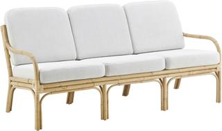 Amsterdam 3-sits soffa Skin on Nature 178x78 cm Inkl beige dyna