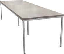 Mystic matbord Betong/galvat 300x100 cm