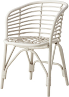Blend stol Vit/grå, rotting