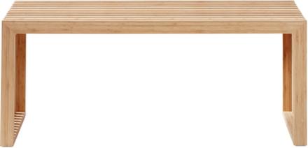 Rib bänk Bambu 104x35 cm