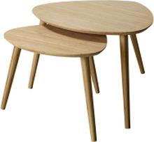 Noble satsbord Bambu 68x57x45/55x46x40 cm