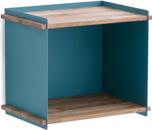 Box wall förvaringslåda Aqua 36x26 cm