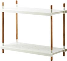 Frame hyllsystem Vit 100 cm bred - 84 cm hög