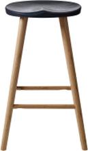 Noble barstol Bambu/svart