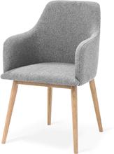 My stol Oljad ek/ljusgrå