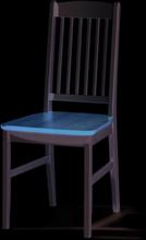 Boden stol Björk/vitlack