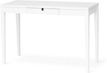 Klinte skrivbord Vitlack 125x40 cm