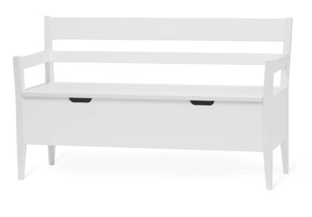 Klinte kökssoffa 2-sits Vitlack 131x50 cm