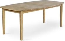 Allegro matbord Oljad ek 186x100 cm