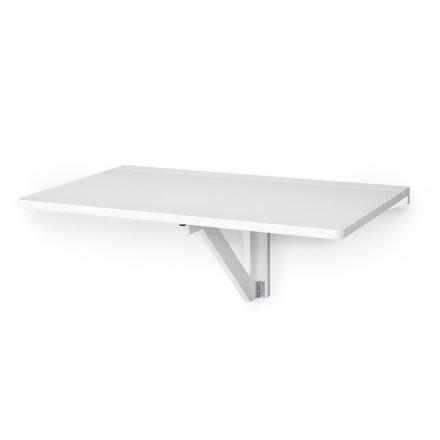Klinte väggmonterat klaffbord Vitlack 90x53 cm