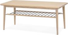 Loke soffbord Vitoljad ek 120x60 cm