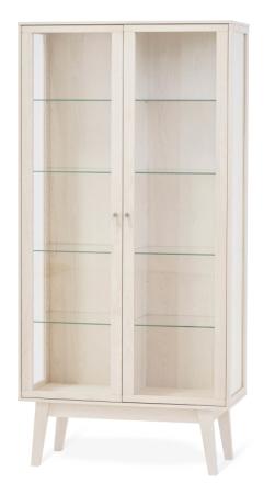 Benson vitrin Vitpigmenterad björk 87x39 cm