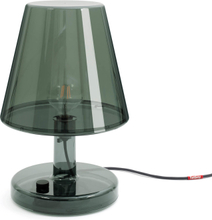 Trans-parents bordslampa Dark grey