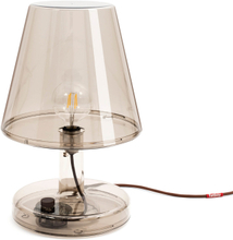 Trans-parents bordslampa Bronze