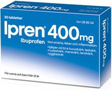 Ipren 400mg 30 tabletter
